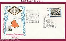 W542 VATICANO FDC ROMA CONGRESSO EUCARISTICO NAZIONALE PESCARA 1977