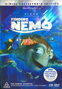 Finding Nemo: 2-Disc Collector's Edition (DVD, Region 4) With Slipcase