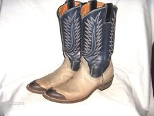 ES15 - CUSTOM MADE LADIES NOCONA BOOTS - BLUE AND GRAY - SIZE ??????