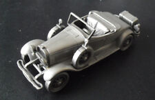 "Danbury Mint England Pewter Car 1927 Lincoln Sportster 4 7/8"" Long"