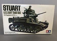 Tamiya Stuart 1/35 US Light Tank M3 Model Kit Sealed Bag MM142