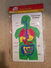 Human Body Foam Soft Puzzle Teacher Resource Medical Science Digestive System