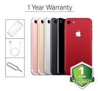 Apple iPhone 7 - 32GB 128GB 256GB - Unlocked SIM Free Smartphone Colours Grades