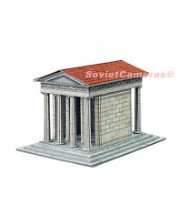 1/87 HO Scale Building Temple of Athena Nike Ancient Greece Cardboard Model Kit