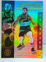 Andre Drummond 2019-20 Panini Illusions Silver Holo Refractor Card #79 Cavaliers