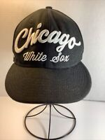 "New Era 9 Fifty ""Chicago White Sox"" MLB Snapback Baseball Cap/Hat~Black & White"