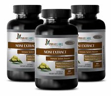 Energy pills - NONI EXTRACT 8:1 500mg - weight loss for women - 3 Bottle