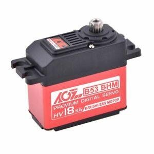 Brushless Servo 18KG 0.055sec HV AGF-RC B53BHM Hybrid Case High Voltage UK Stock