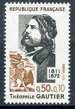STAMP / TIMBRE FRANCE NEUF LUXE N° 1728 ** CELEBRITE / THEOPHILE GAUTIER