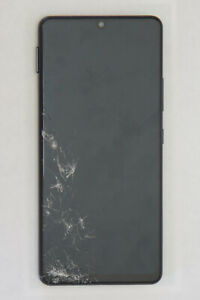 Cracked Samsung Galaxy A42 5G 128GB Prism Dot Black Verizon Single SIM