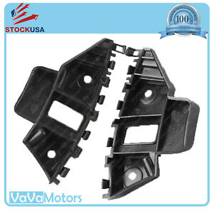 Fits 2015 2016 2017 2018 VW Jetta Front Bumper Support Brackets Cover Set Pair