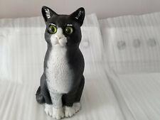 "New listing 1990 Dalen Products Plastic Black Cat Sculptured By Artist Pamela Rickman 14"""