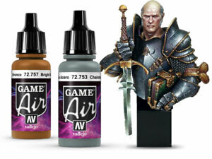 Vallejo Game Air Airbrush Paints 17ml Full Range including surface primers