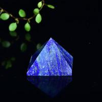 25-30mm Natural Lapis Lazuli Gemstone Pyramid Healing Specimen Decoration1pcs