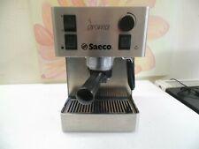 Saeco Aroma SIN 015X Edelstahl Espresso Kaffeemascchine,überholter Zustand