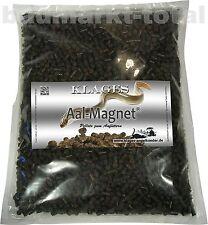Aal Magnet 1kg Tüte Aal Futter Lockfutter Aalmagnet Pellets zum Anfüttern Angeln