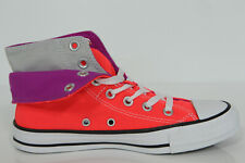 New all Star Converse Chucks Hi Trainers Two Fold Coral Neon 140072c Gr.37,5 UK5