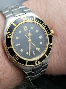 Omega Seamaster (Pre Bond) Submariner 200M Solid Gold Bezel