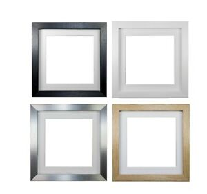 Instagram Square 3D Deep Box Frame PicturePhoto Frame Display with Bespoke Mount