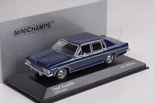 Opel Kapitän 1969  blue  Minichamps 1:43
