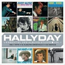 JOHNNY HALLYDAY - L'ESSENTIEL DES ALBUMS STUDIO, VOL. 1 NEW CD