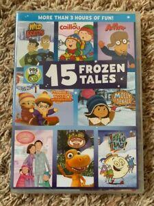 BRAND NEW Sealed PBS Kids 15 FROZEN TALES DVD WILD KRATTS, CAILLOU, DANIEL TIGER