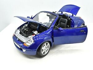 Model Car Ford Street Ka Scale 1/18 diecast vehicles road collection