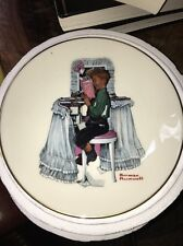 Danbury Mint Norman Rockwell Collectors Plate Dear Diary Gorham Usa
