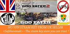 GOD EATER 2 Rage Burst + RESURRECTION Steam key NO VPN Region Free UK Seller