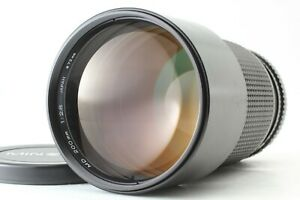 【 EXC+++++ 】 Minolta New MD 200mm f/2.8 Telephoto MF Lens from JAPAN #2410