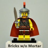 New Genuine LEGO Roman Commander Minifig with Sword Series 10 71001