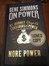 Gene Simmons Kiss Signed Autograph Book