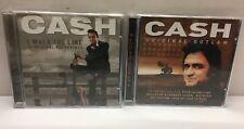Johnny Cash - Original Outlaw & I Walk The Line - 2 ALBUMS