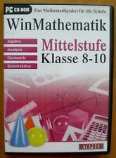 WinMathematik Mittelstufe - Klasse 8-10 von TOPOS Mark... Software