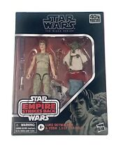 Star Wars Black Series 6 Inch The Empire Strikes Back Luke Skywalker & Yoda