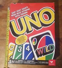 Giant Huge Uno Cards Party Game NEW