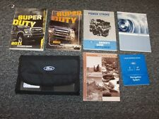 2011 Ford F550 Super Duty Owner Owner's Operator Manual Set King Ranch Lariat XL
