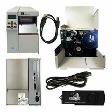 Zebra 105SL PLUS 102-801-00000, Power Supply, USB Cable, New Print-Head!