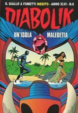 Diabolik  Anno XLVI n° 8 Un'isola maledetta
