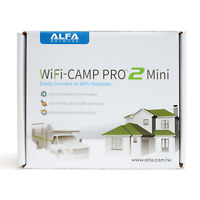 Alfa Camp Pro 2 Mini: R36A Wi-Fi USB Router + AWUS036NH Long Range Repeater Kit