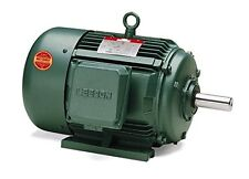 7.5hp 1760RPM 213T Frame 208-230/460 Volts TEFC Leeson Electric Motor # 170157