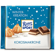 Ritter Sport Winter Creation: Coconut Macaroon /Kokosmakarone -100g-