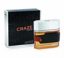 Armaf Craze For Men 3.4oz/100ml Eau De Parfum Free Shipping Limited Stock.