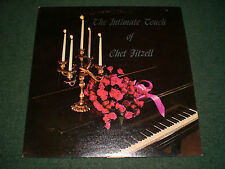 The Intimate Touch Of Chet Fitzell~AUTOGRAPHED~RARE Private Label Lounge Piano