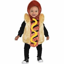 Mini Hot Dog Halloween Costume for Babies, with Included Accessories