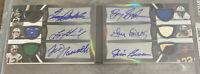 * TRUE 1/1 * Autograph - Barry Sanders - Jim Brown - Joe Namath - Terry Bradshaw