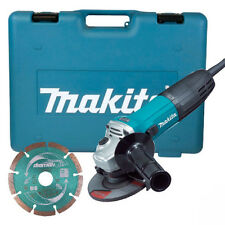 "MAKITA GA4530KD 720W 4.5"" 115mm ELECTRIC 110V ANGLE GRINDER IN CASE & DISC NEW"