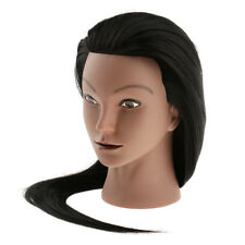 Cosmetology Hairdresser Training Mannequin Head 30% Long Human Hair Silicone