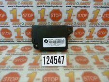 11 12 13 2013 DODGE DURANGO DRIVER ASSIST COMPASS CONTROL MODULE 04671918AK OEM