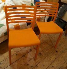 Restaurant Resol Lama Orange chair made in Europe